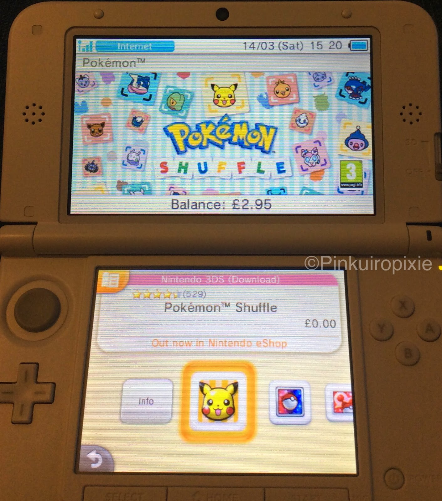 Life in the Kawaii Lane: New Nintendo 3DS Themes and Pokémon