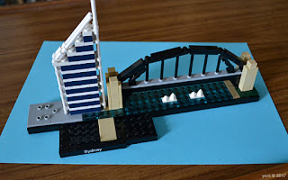 lego architecture sydney - deutsche bank place