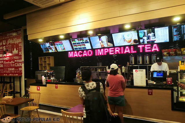 Macao Imperial Tea in Circuit Mall, Makati