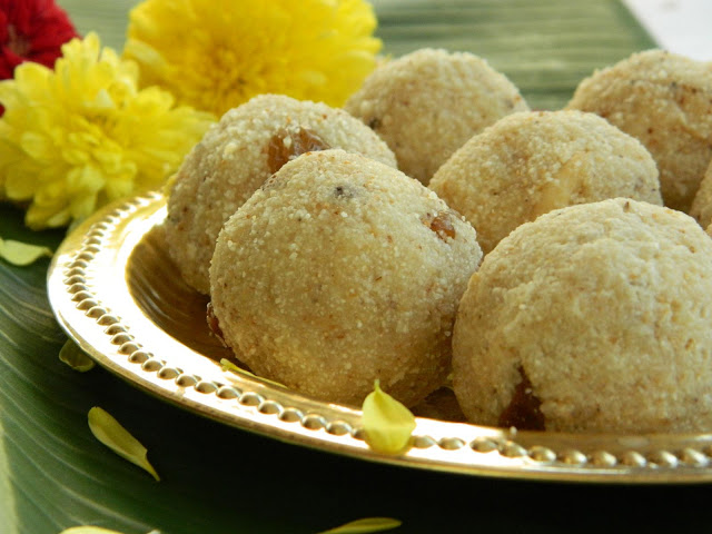 Rava Ladoo Recipe image