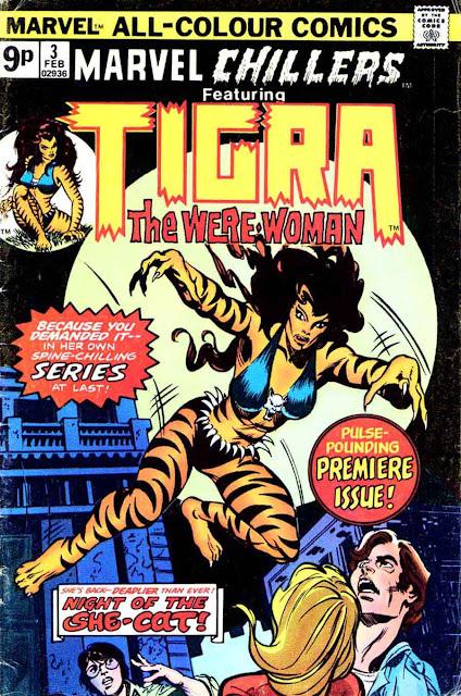 Marvel Tigra Son Pencil Ink : Ma...