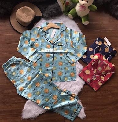Đồ bộ tay dài quần dài Pijama 2017