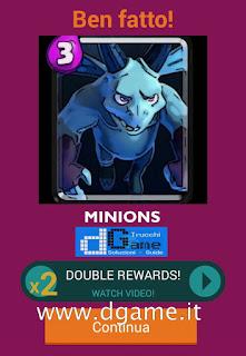 Soluzioni Quiz Clash Royale card livello 14