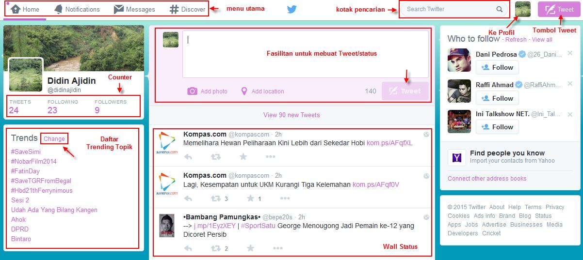 Tips Menggunakan Twitter terbaru cepat dan lengkap