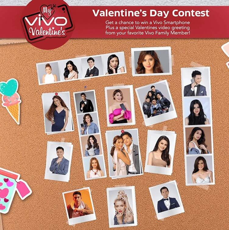 Vivo Valentine's Contest; Take a Selfie and Win Vivo Smartphone