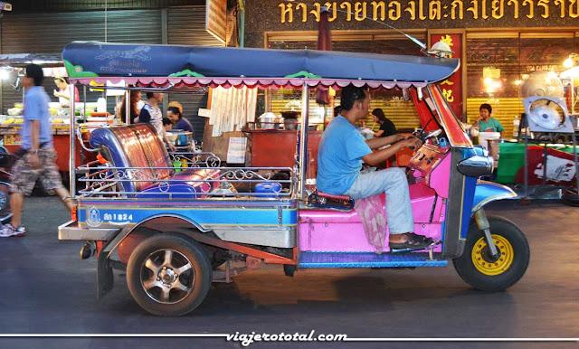 Tailandia - Bangkok - Tuk Tuk