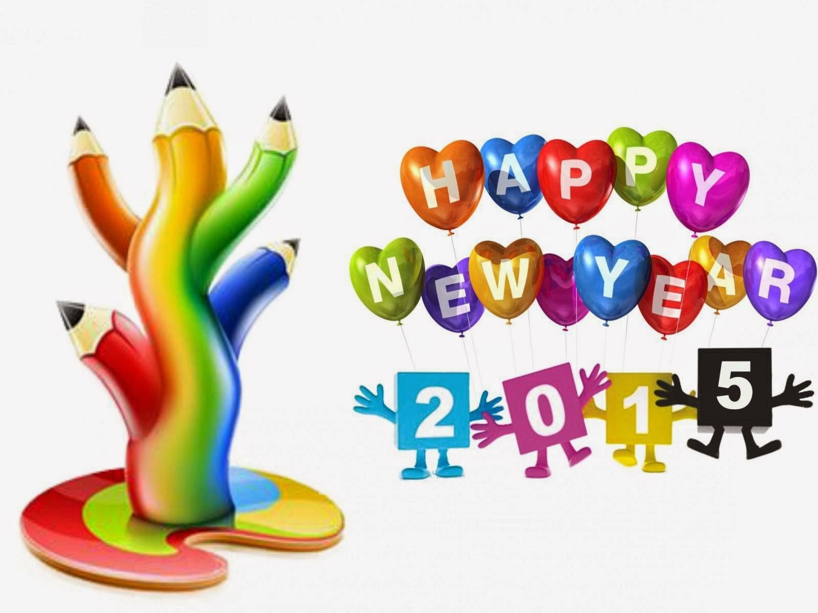 2015 New Year Wallpapers For Kids