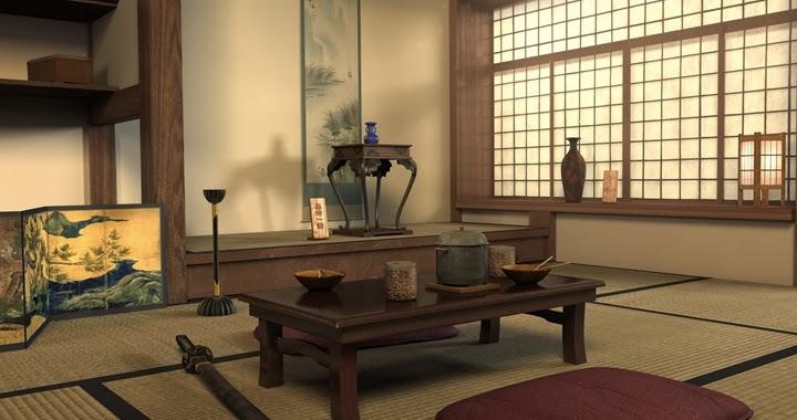 Marzua Estilo japons en decoracin