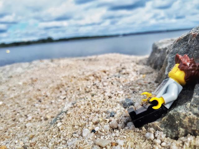 Lausitzer seenland aka Lusatian Lakeland beach