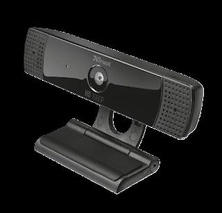 trust elegante webcam hd 1080p 22397