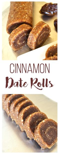 Cinnamon Date Rolls