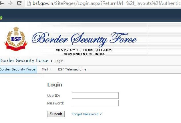 Bsf Payslip - www.bsf.nic.in pay slip Login
