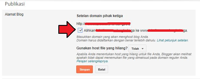setting atau manage domain di freenom untuk blogspot 2