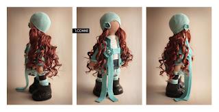 Авторская кукла Татьяны Коннэ: Esmy фото.