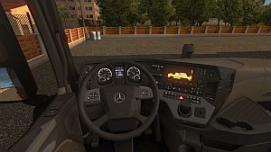 New Display for Mercedes Actros 2014