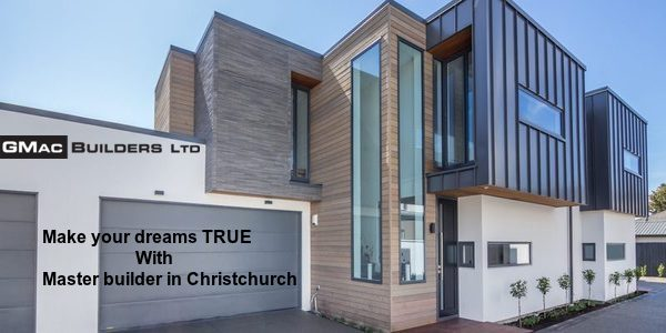 Master builder in Christchurch