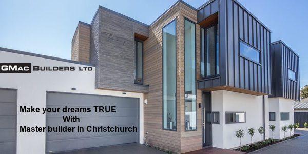 Master builder in Christchurch