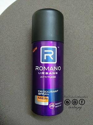 ROMANO deodorant spray baru
