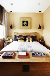 Examples Of Narrow, Minimalist Bedroom Design