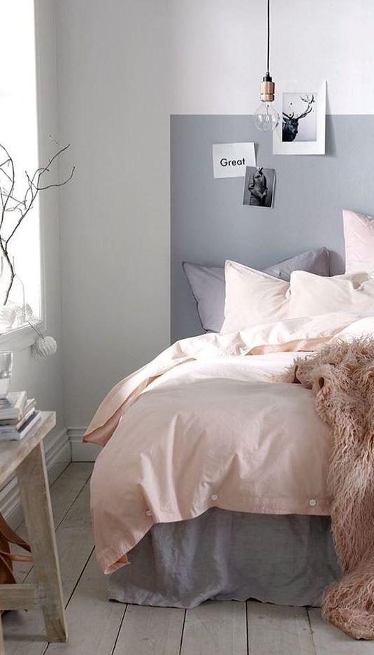 bedroom pastel design idea