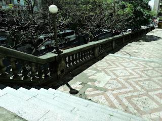 Escada do Viaduto Otávio Rocha,  Centro de Porto Alegre