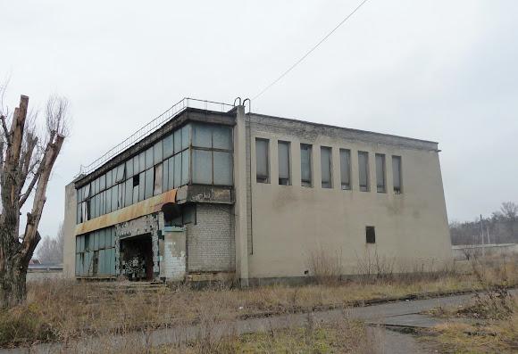 Костянтинівка. Колишня їдальня заводу «Автоскло»