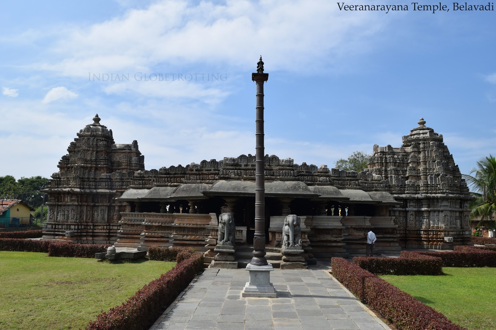 Belavadi Veera Narayana Temple is one of the lesser known Hoysala temple