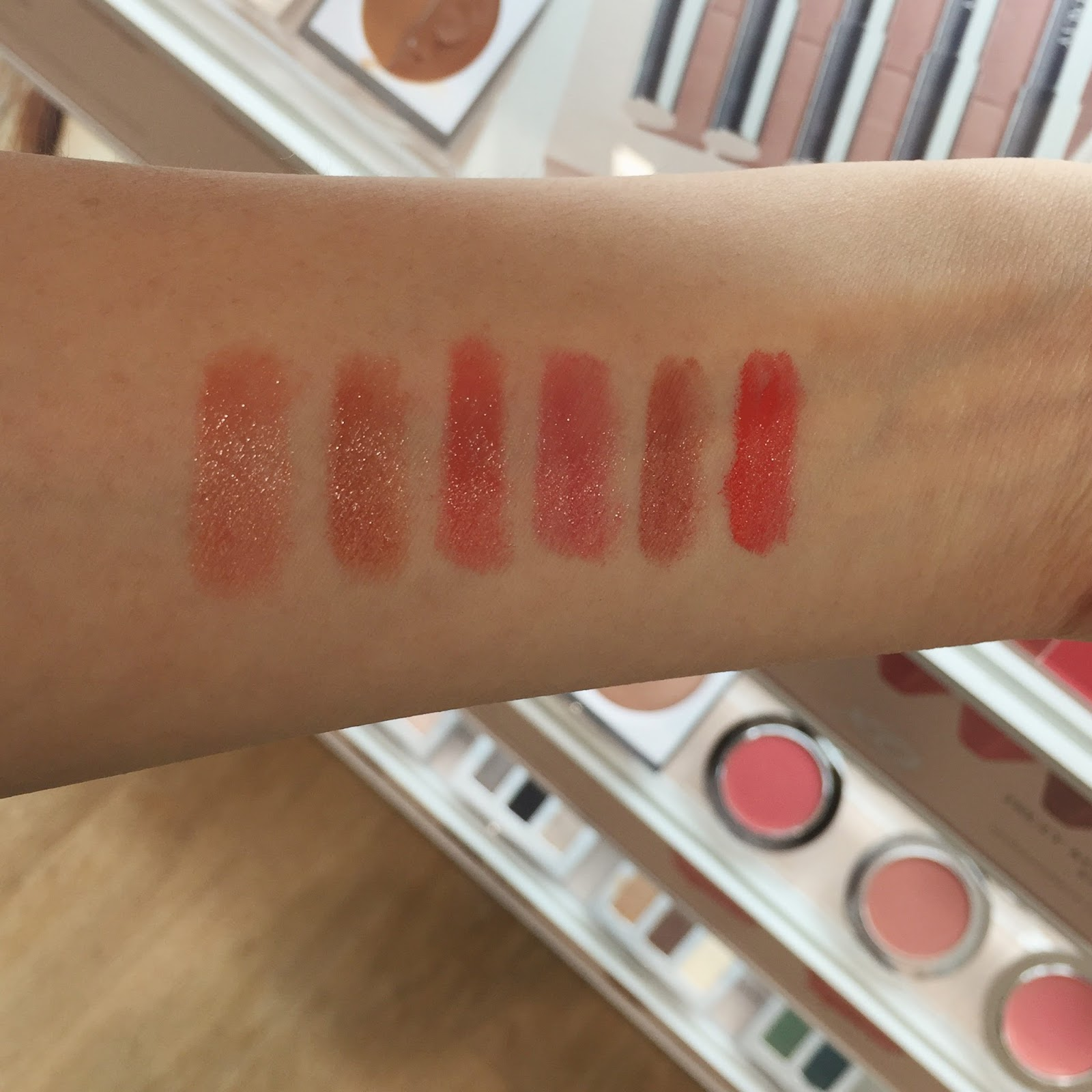 honest beauty truly kissable lip crayon sheer swatches