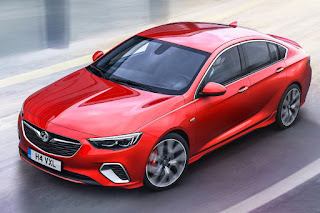 Vauxhall Insignia GSi (2018) Front Side