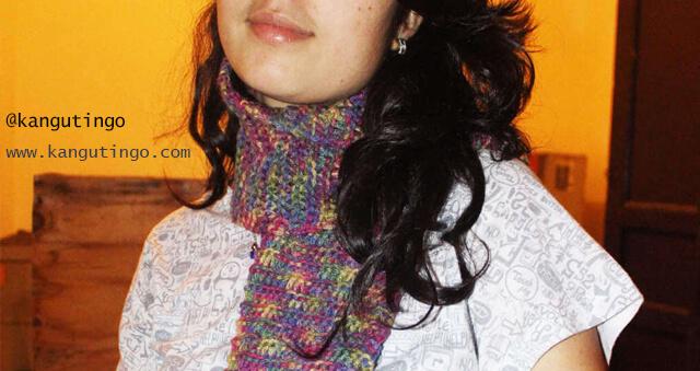 Bufandas tejidas Fulares portabebés y tejidos a crochet kangutingo