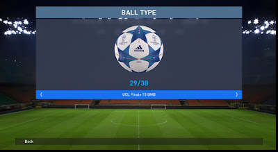 PES 2016 Unlock 38 Ball (From Default Pes2016) by A20Group