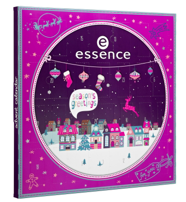 Essence Nagellack Adventskalender 2015 advent calendar