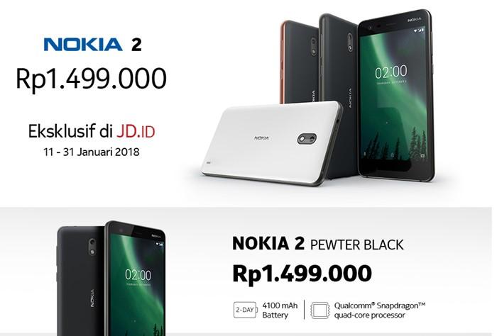 Harga Nokia 2 di JD.ID - JDID