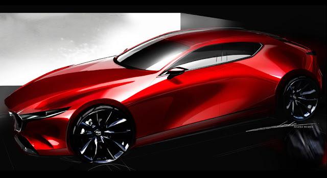 Новая Mazda 3 получит новый дизайн от Kodo в 2019 году