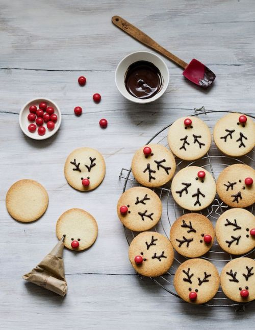 Easy Reindeer Cookies Content In A Cottage