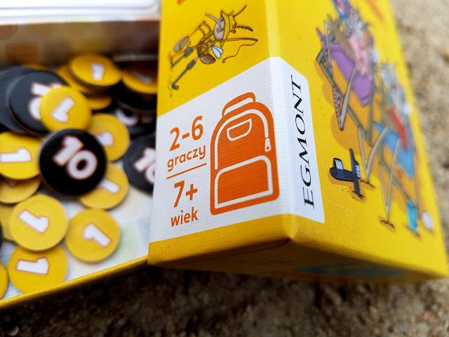 Ubongo - Lato z komarami - Pędzące żółwie - Szybkie bańki - gry  do plecaka - Egmont - gry  karciane dla dzieci