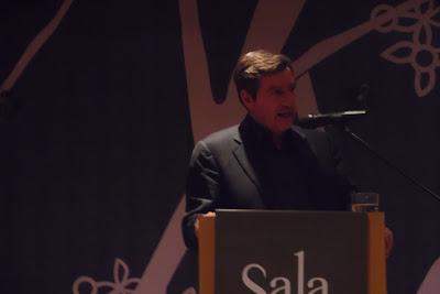 Στην Βεροια βρεθηκε το βραδυ της Τριτης 17 Οκτωβριου ο Δημαρχος Αθηνας και υποψηφιος αρχηγος του νεου σχηματος  της Κεντροαριστερας Γιωργος Καμινης.Φωτογραφιες -Βιντεο