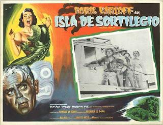 Isla de Sortilegio (Voodoo Island 1957) / Cartel