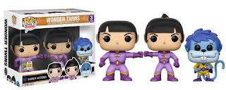 Pop! Heroes: Wonder Twins 3-pack – Zan, Jayna & Gleek.