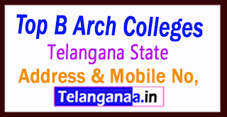 Top B Arch Colleges in Telangana