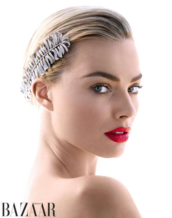 Margot Robbie: Harpers Bazaar 2018  pics 05