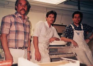 Stuckwerkstatt Belz Bonn Anfang der achtziger Jahre Ausbildung Stuckkateure