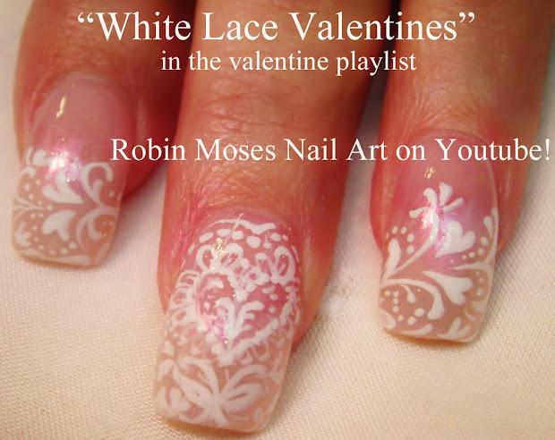 "Robin Moses Nail Art ""valentine' Day Art"" Of"