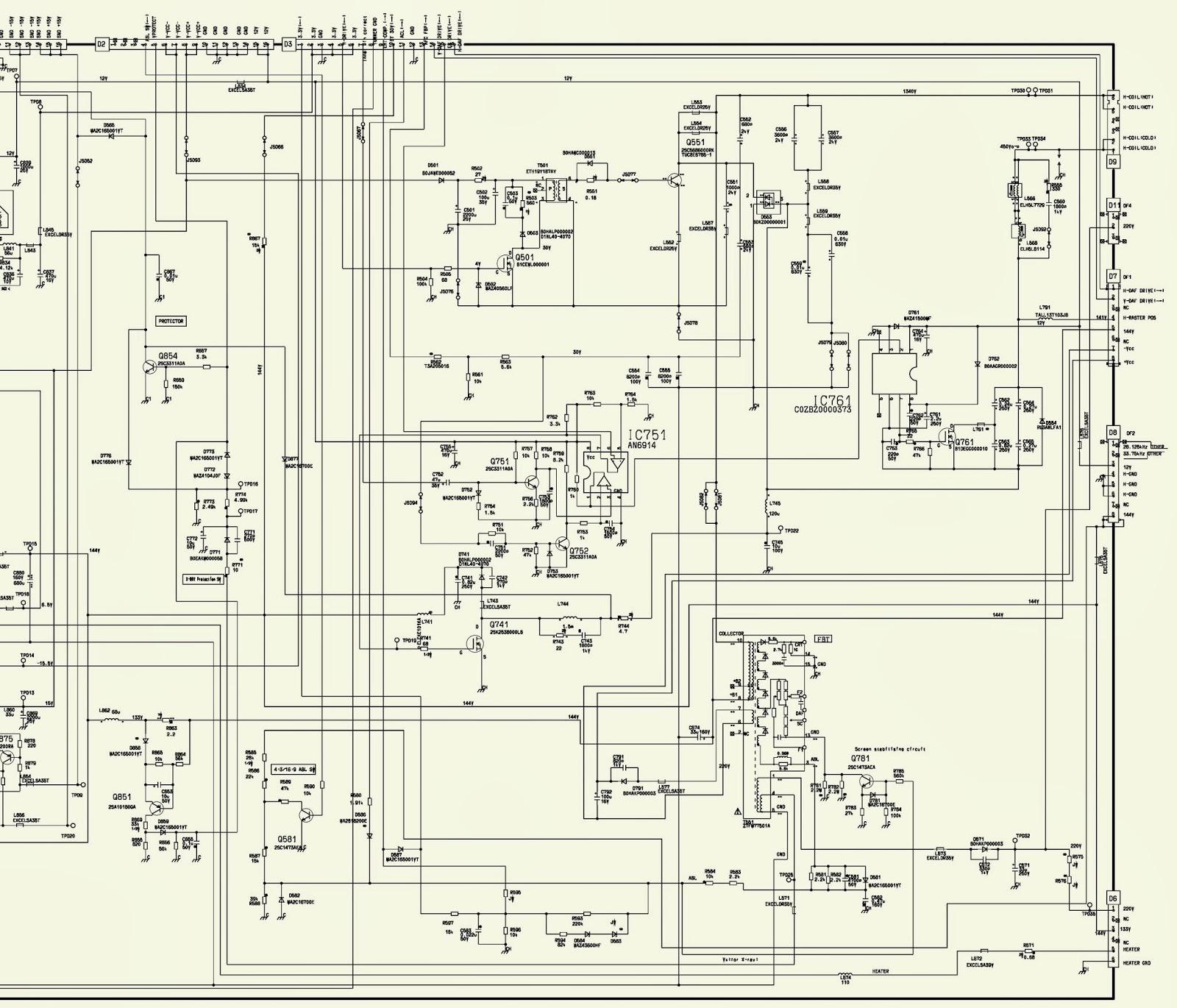 panasonic schematic diagram panasonic wiring diagram