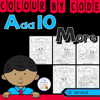 Colour By Numbers Add 10 More UK Version