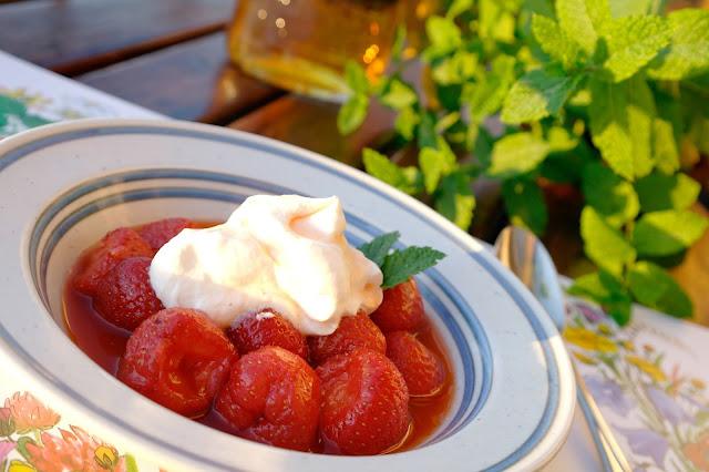 jordgubbar i rom