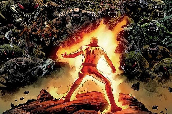 Human Torch, Tokoh Superhero Marvel Pertama di Dunia
