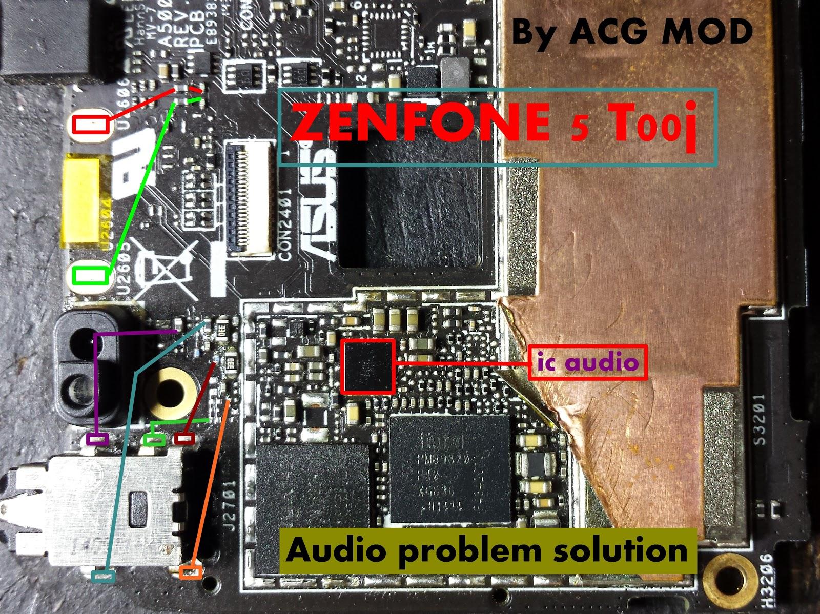 Acg Mod  Asus Zenfone 5 T00j  Audio Ways  Mode Handsfree Solution