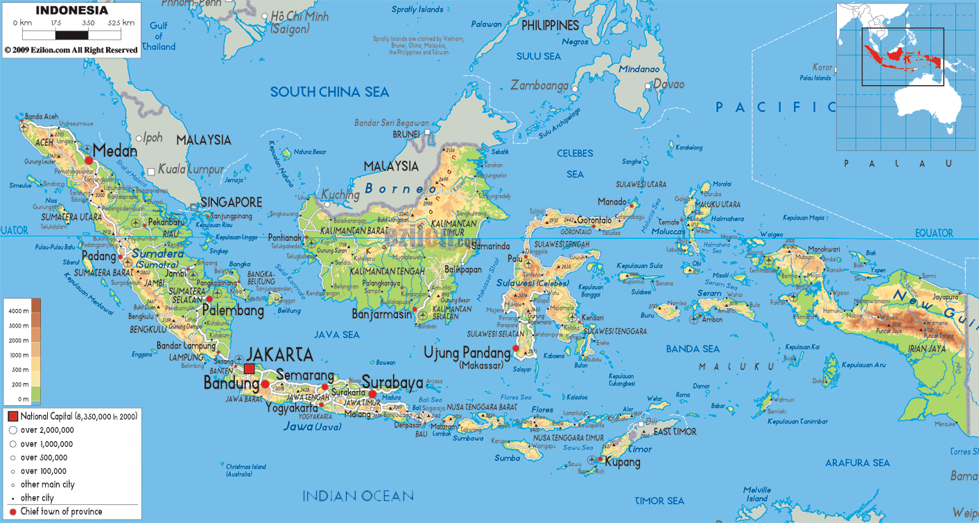 Daftar Pulau Pulau Terbesar Di Indonesia