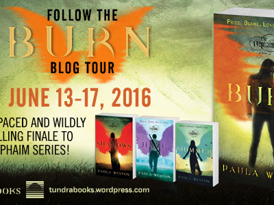 Spoiler Free Review: BURN by Paula Weston | Blog Tour